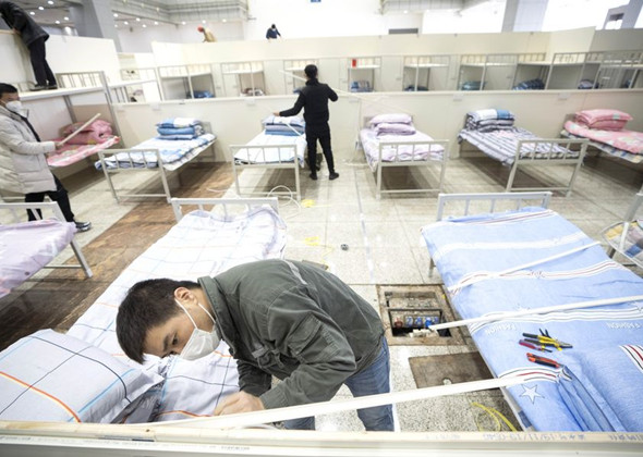 Wuhan Creates More Makeshift Hospitals as