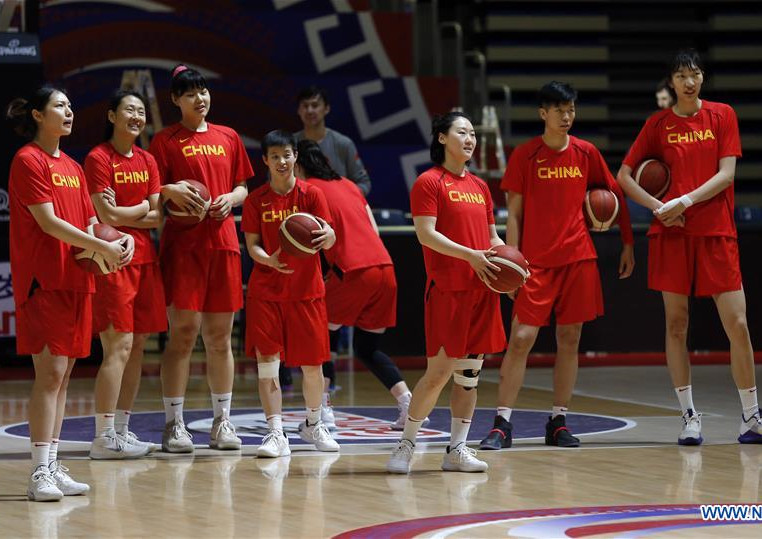 China Names Roster for Women's